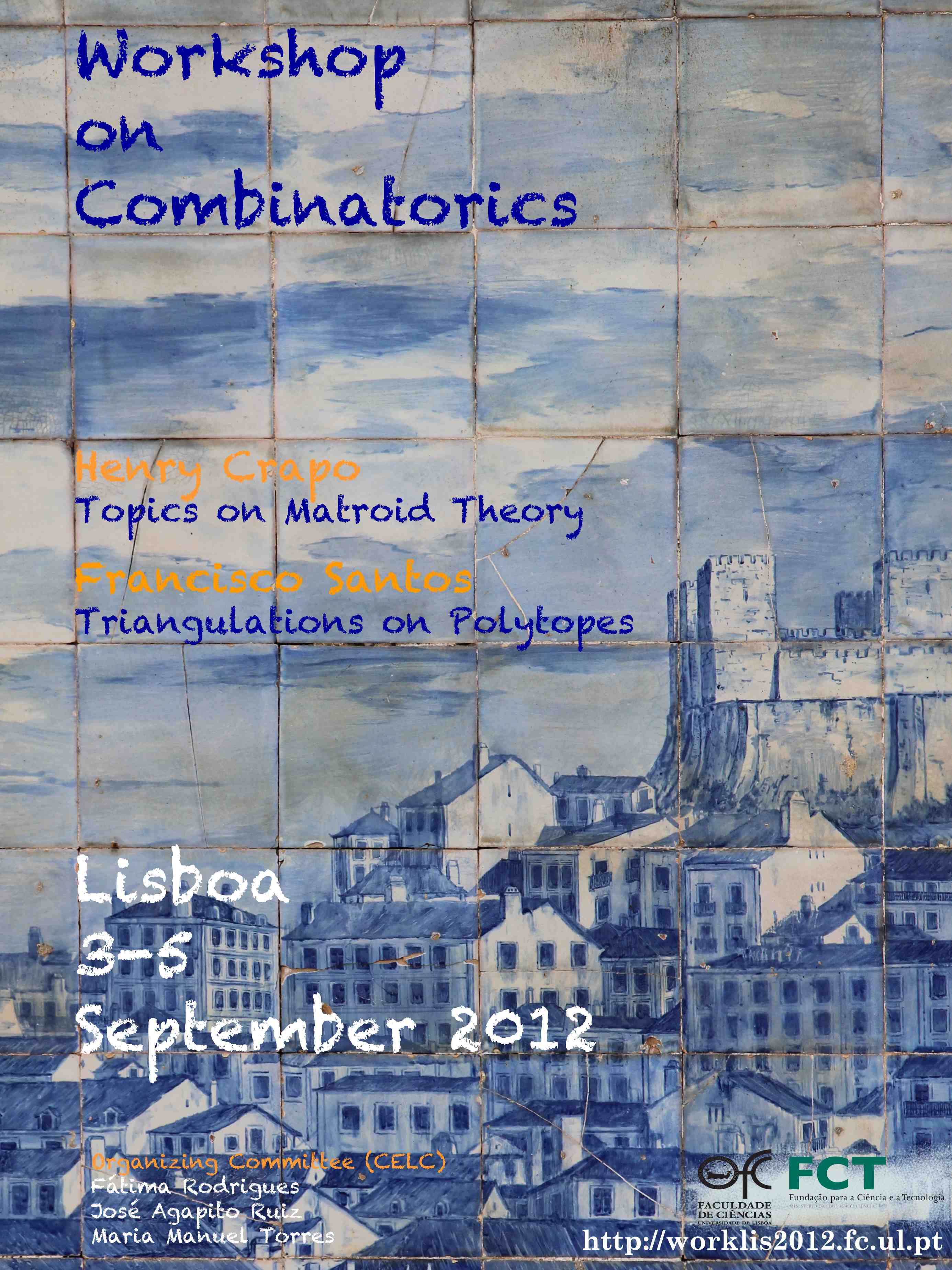 [Poster] Workshop on Combinatorics